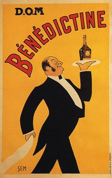 D.O.M Benedictine poster