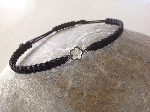 Delicate  sterling silver flower bracelet by keepcalmandbeadon, £5.50