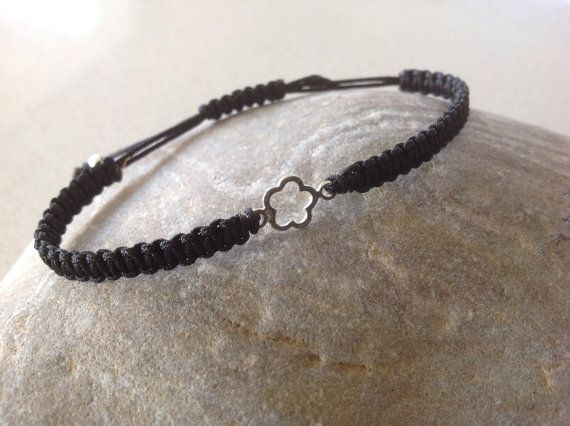 Delicate  sterling silver flower bracelet by keepcalmandbeadon, £5.50