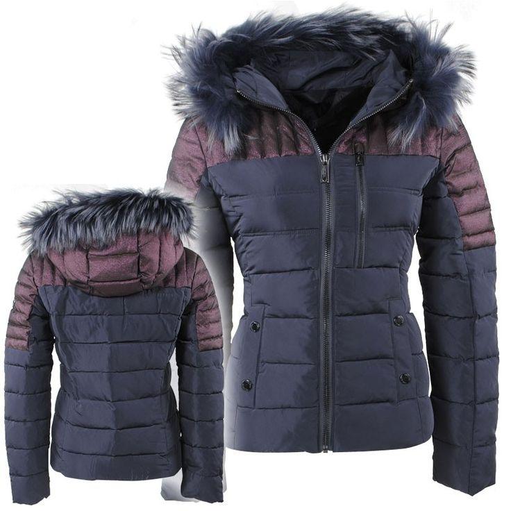 Nickelson fur trim parka jacket