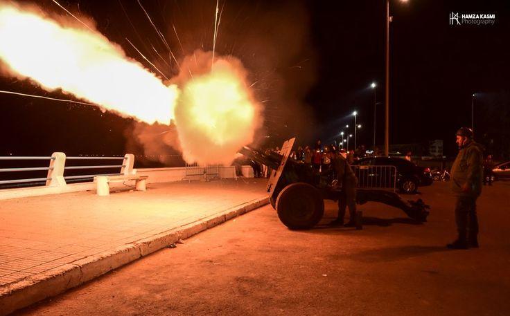 Tir de canon de Ramadan à El Jadida au Maroc (2017)