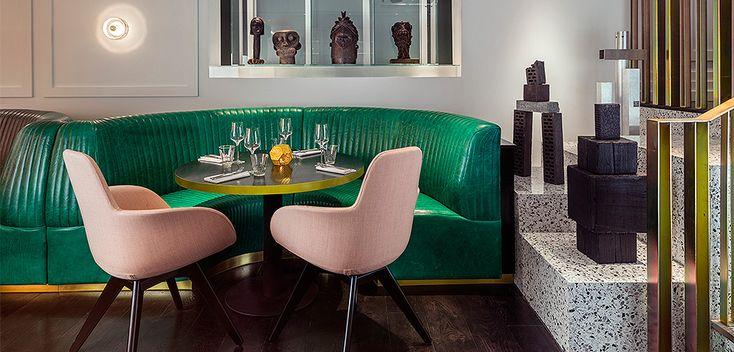 Том Диксон (Tom Dixon): ресторан Bronte в Лондоне