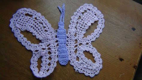 Crochet a Butterfly in Bruges Lace Part 1 of 3