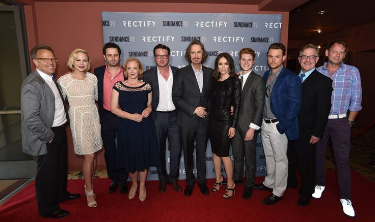 RECTIFY (Cast) Season 2  SundanceTV : Mark Johnson, Adelaide Clemens (Tawney Talbot), Luke Kirby (Jon Stern), J. Smith-Cameron (Janet Holden), Aden Young (Daniel Holden), Ray McKinnon, Abigail Spencer (Amantha Holden), Jake Austin Walker (Jared Talbot), Clayne Crawford (Ted Talbot Jr.), Bruce McKinnon (Ted Talbot Sr.) and J.D. Evermore (Sheriff Carl Daggett)