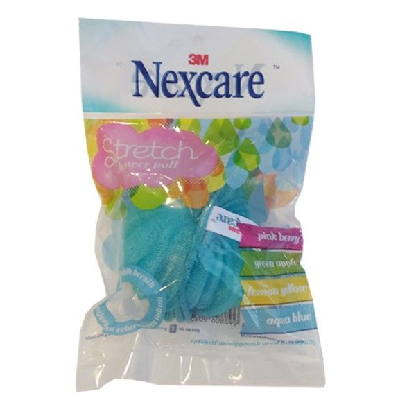 Nexcare Stretch Puff.  Spon yang mapu memberikan lebih banyak busa saat mandi serta dapat menimbulkan efek relaksasi.  - Memberikan lebih banyak busa saat mandi - Memberikan efek relaksasi - Mengangkat sel kulit mati - Melancarkan aliran darah - Formula anti bakteri - Harga per each.  http://tigaem.com/kesehatan-perawatan-tubuh/451-nexcare-stretch-puff.html  #nexcare #stretchpuff #sponmandi #3M