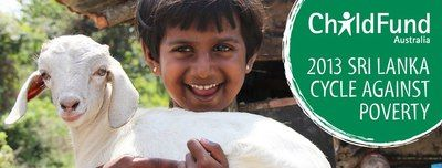 ChildFund Australia, 2013 Cycle Against Poverty Challenge, Fundraising, Children's charities, Sri Lanka, Cycling, Poverty Relief, International Development, International Aid, Cycle for a Cause