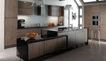 Bella Grey Kitchen - By BA Components, kitchen doors, interior design