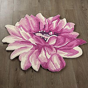 Lotus Flower Rug #kaleidoscope #home #trend