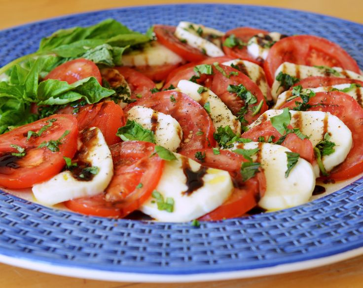 TESTED & PERFECTED RECIPE - Flavors are elevated in this Caprese Salad. The balsamic glaze looks gorgeous & adds tangy-sweet flavor to every bite.