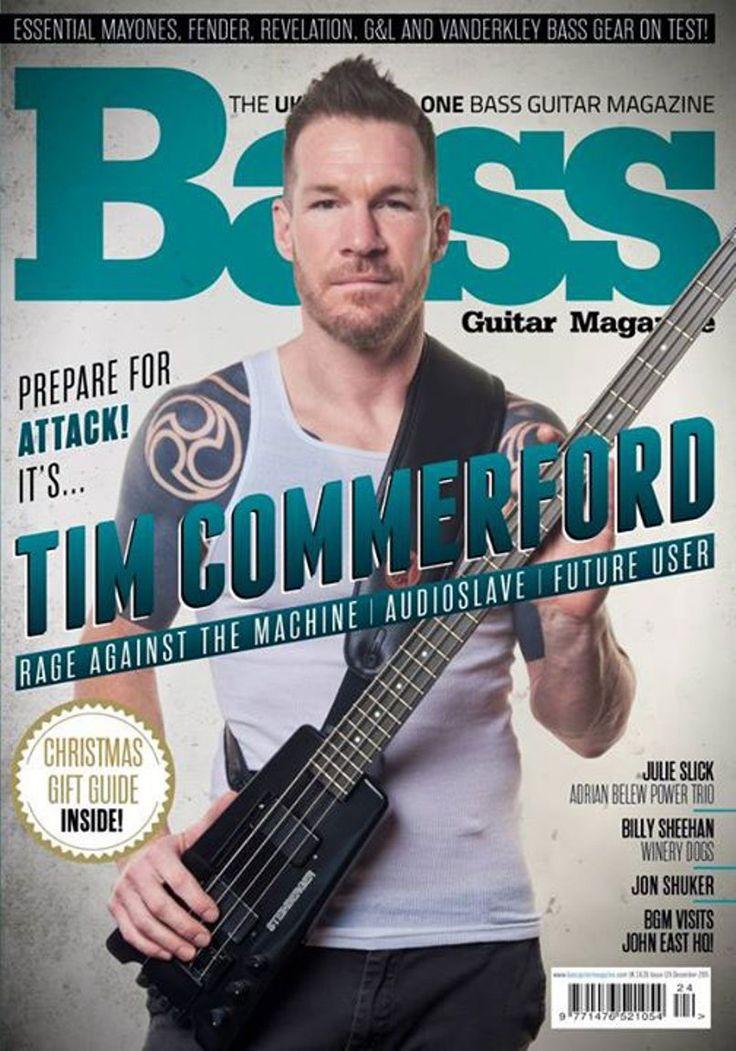 Bass Guitar Magazine | Tim Commerford_December 2015