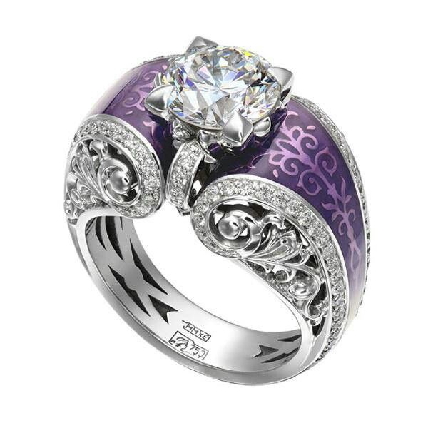 lilac to violet purple wardrobe wishes purple wedding ringspurple - Purple Wedding Ring