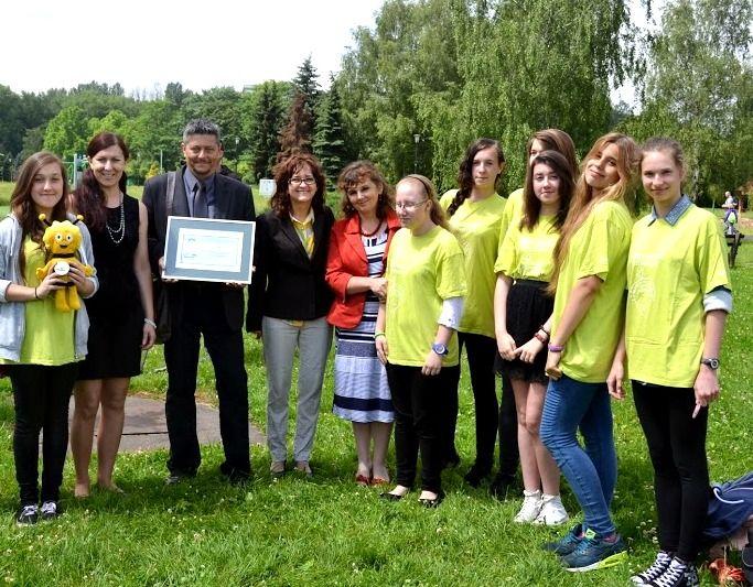 Park Śląski, wręczenie nagród Eko-Aktywni 2014