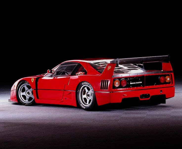 My favorite turbo car! Ferrari F40 LM Competition