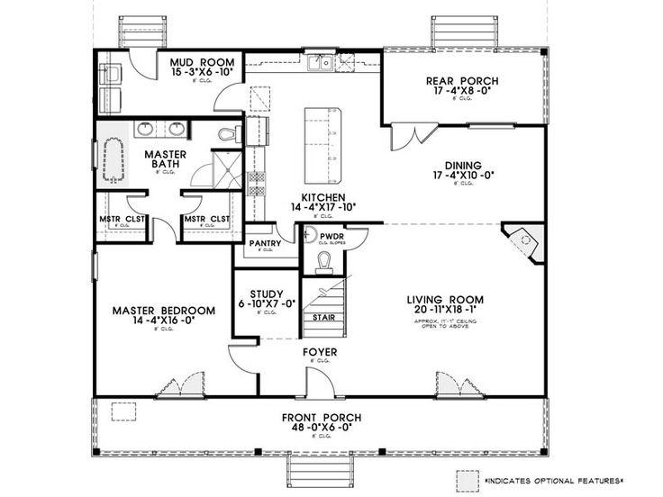 Evangeline Floorplan-- Manuel Builders
