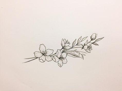 58 Ideas flowers drawing tattoo lotus for 2019 #flowertattoos