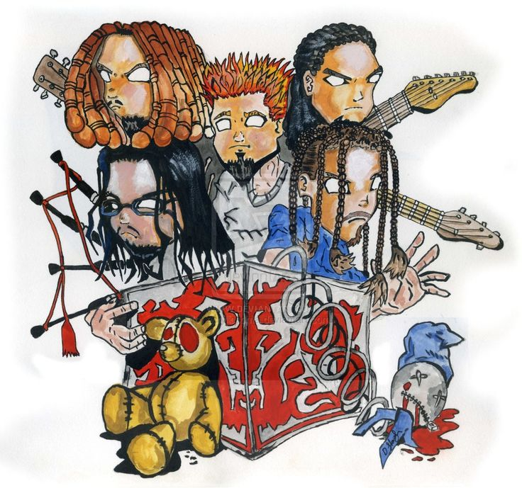 Cartoon Images Of Korn - Google Search