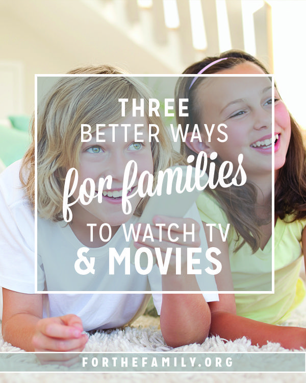 """Is """"screen time"""" turning into """"all the time"""" at your house? Understanding the effects of electronics on our children can be s tricky issue, but these resources will help lighten your load  and experience television and movies in a way you can feels good about!"""