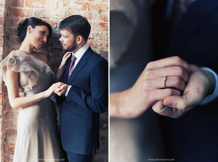 свадьба в фиолетовых тонах №3