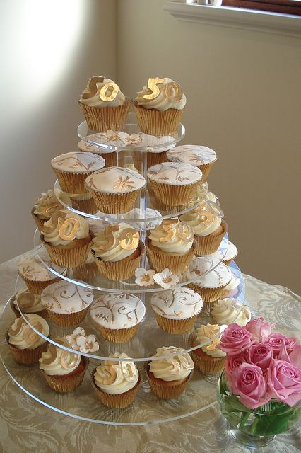 Cupcake Tower Instead Of Cake