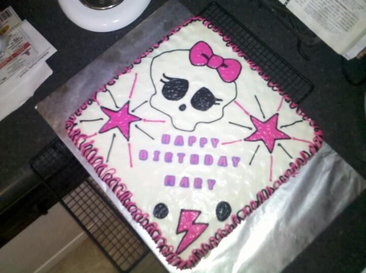 Pics Of Monster High Birthday Cakes