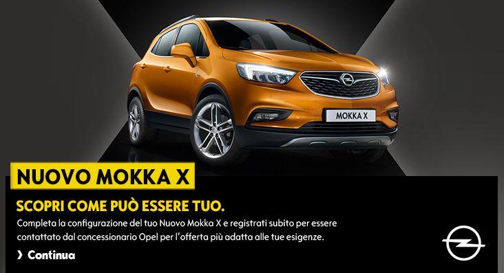 Opel MOKKA X   Configuratore   Opel Italia