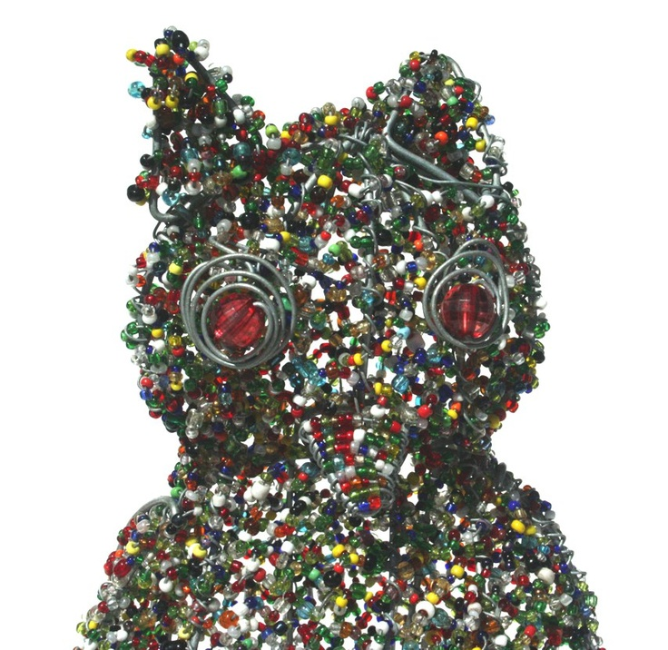 Stribal Product of the day is the multi-colored wire beaded Owl handmade by a new Artist joining the Stribal team, Cornelius.    We sure do love this crazy mesh of colors.    For more Wire bead art animals please click herehttp://www.stribal.com/artworks/beaded-artworks/animals-and-creatures.html