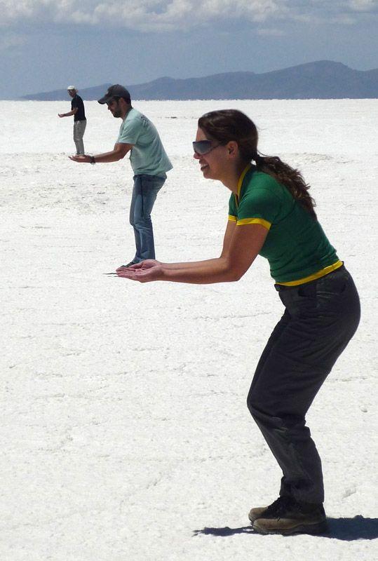 Salar de Uyuni, Bolívia - ilusão de óptica!