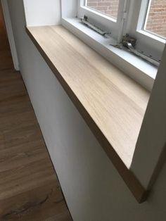 25 beste idee n over vensterbank op pinterest keuken for Steigerhout vensterbank
