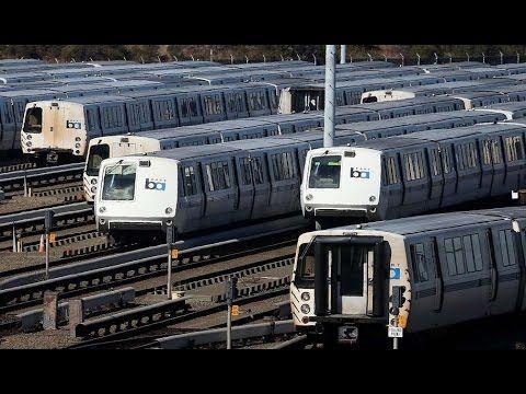 Bay Area Rapid Transit West Oakland stationVIDEO Downed power lines shut down Transbay BART ser