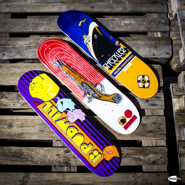 Plan B decks with some really dope graphics!