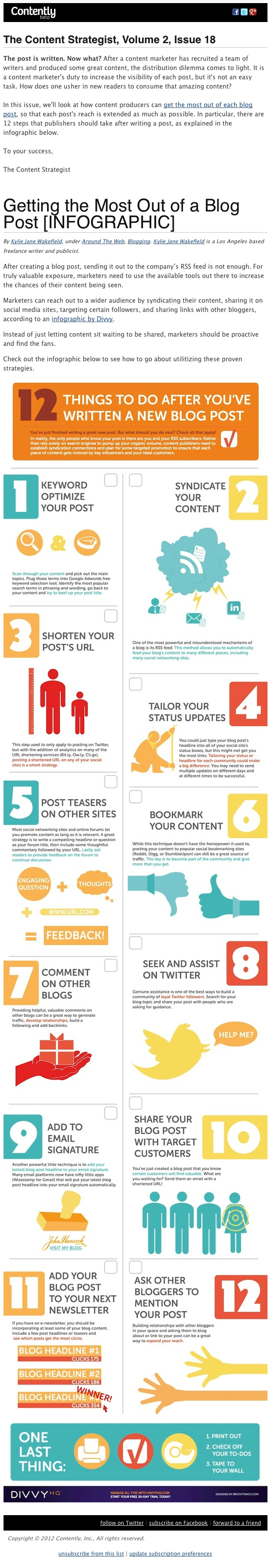 A good use of an infographic, even though the advice is a bit obvious.