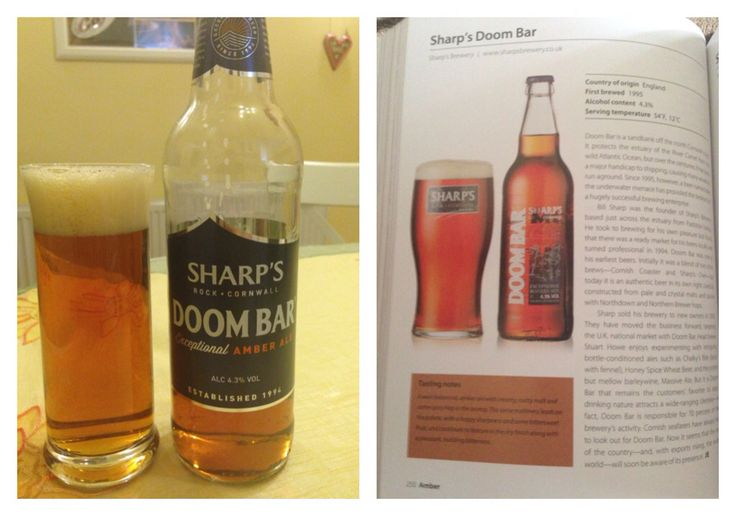 #140 SHARP'S DOOM BAR - Exceptional AMBER ALE ⭐️⭐️⭐️⭐️