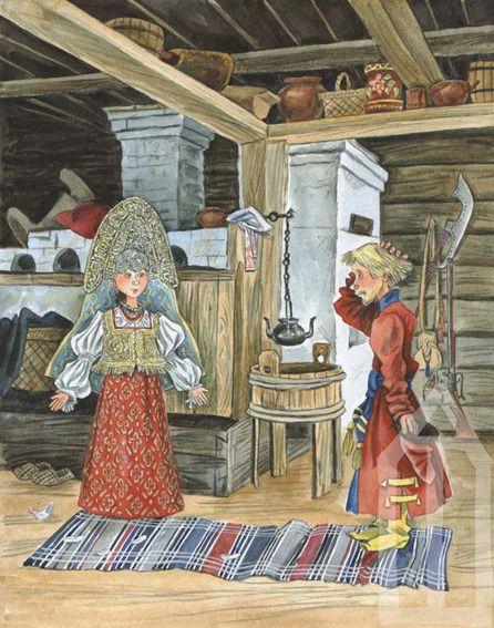 Illustration Эскиз иллюстрации к Поди туда по Успенскому
