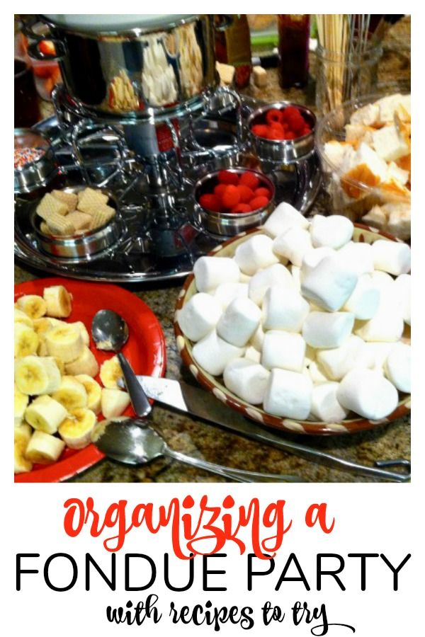 Tips On Organizing A Fondue Party And A Chocolate Fondue Recipe Fondue Parties Are A Great Way To Enjoy A Fondue Dinner Fondue Recipes Chocolate Fondue Recipe