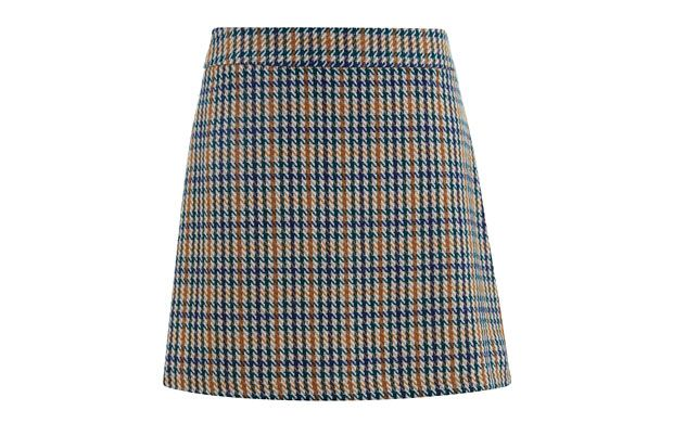 Checked+Miniskirt+-+Women+-+Tu+Clothing+At+Sainsbury's