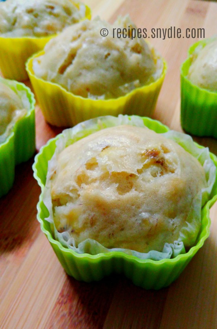 """Share this on WhatsAppSteamed banana muffin is a snack or """"merienda"""", loved by many Filipinos. If you love bananas so much then this will be your comfort food because its main ingredient is, of course, a ripe banana. Along with the ripe mashed banana are eggs, sugar, flour, baking soda, and butter (or oil). At first, it was just a cake or also known as """"banana cake"""" and it is"""