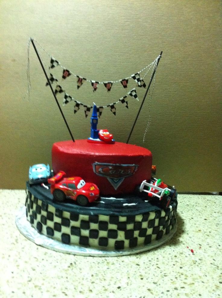 Pinterest Cars Cake