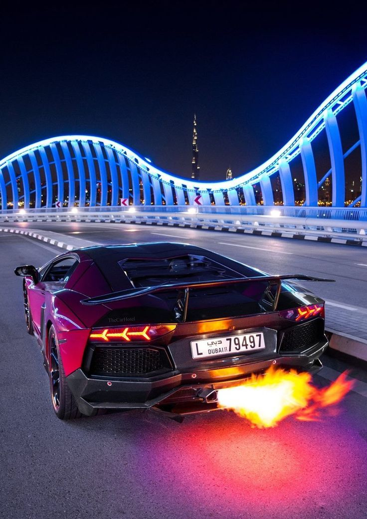 Lambo in dubai