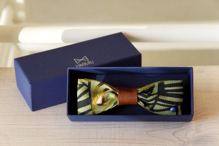 紅型蝶ネクタイの 新ブランド「HABERU(ハベル)」 - 沖縄CLIP