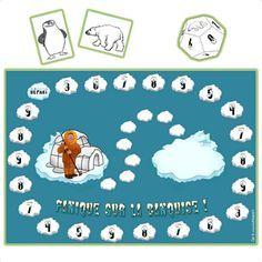 Panique sur la banquise jeu pour r viser les tables d for Multiplication enfant