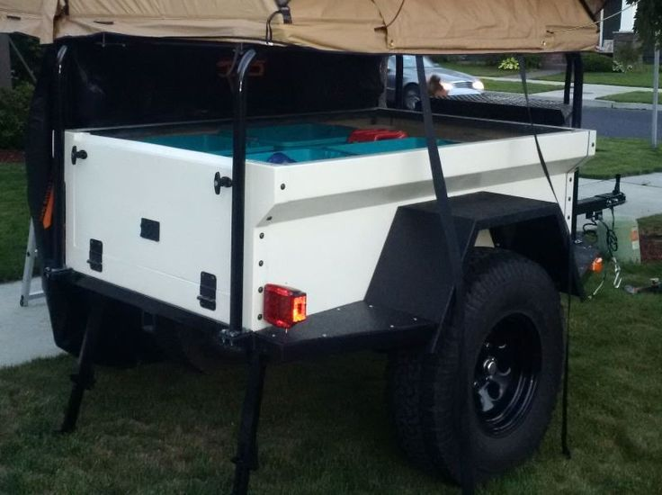 Trailer Fender Boxes : Best images about m ideas on pinterest expedition