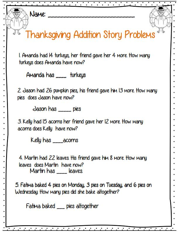 thanksgiving writing activities for grade 3