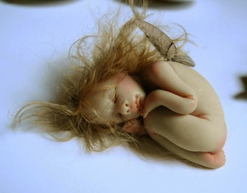 .Sleepy Fairy, could be cute to hide it somewhere so the children can see it but not get to it...