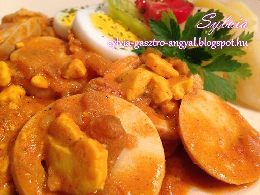 Sylvia Gasztro Angyal: Tojáspörkölt főtt burgonyával