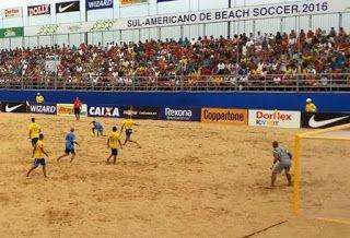 Blog Esportivo do Suíço:  Brasil faz 11 a 1 no Uruguai pelo Sul-Americano de futebol de areia