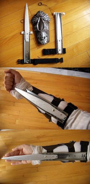 I found 'Functioning Hidden Blades and Bracer - Assassin's Creed' on Wish, check it out!