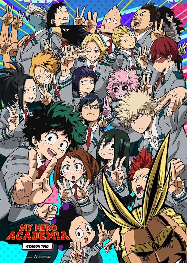 Boku no Hero Academia/My hero academia - whacky and fun first season contrasts a more serious, character driven second season. Easily one of the best new anime, with some of the best animation I've ever seen.