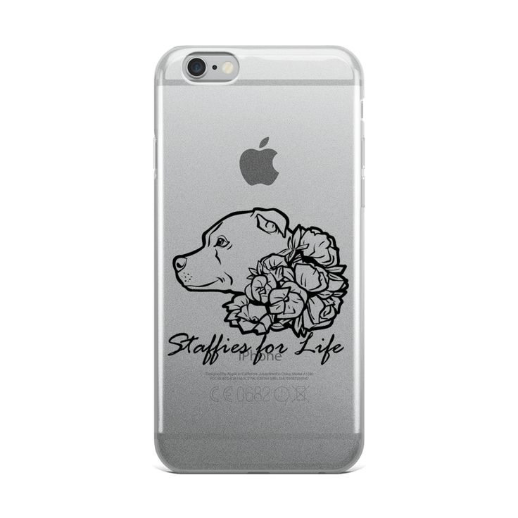 Staffies for Life - Black - iPhone Case
