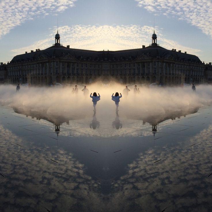 Espejo de agua. Burdeos, Francia.