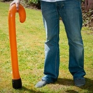Inflatable Walking Stick. The perfect gift for any old timer! Shaped just like a traditional cane Good height to suit most people A funny gag gift or costume prop! http://www.coolthings.com.au